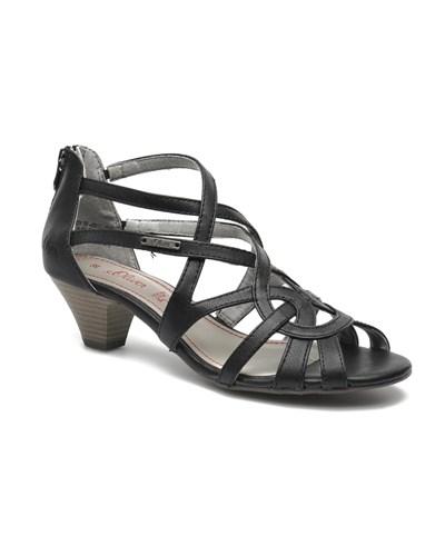oliver s oliver kareen sandalen f r damen schw 55. Black Bedroom Furniture Sets. Home Design Ideas