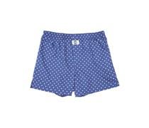 DEAL Dots Boxershorts blau/weiss