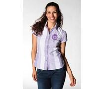 Damen Tommy Hilfiger Damen Bluse purple violett gestreift Sportiv,Trendig