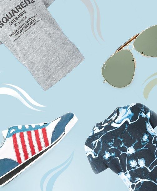 New Arrivals: Sneaker, Sonnenbrille, T-Shirts
