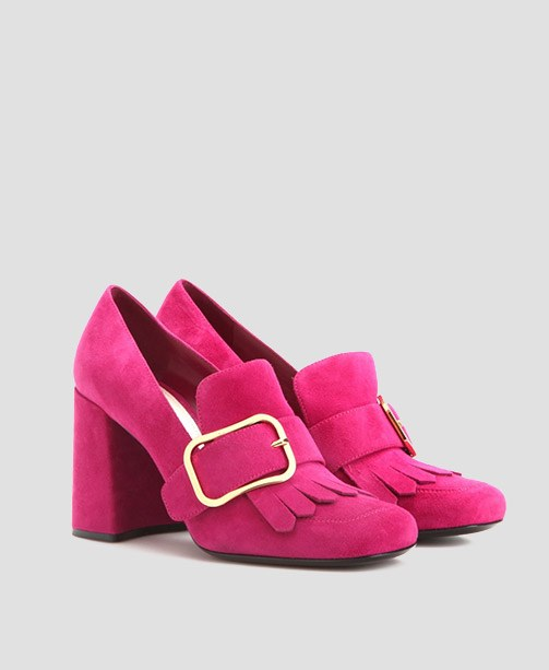 Pinke Pumps Prada