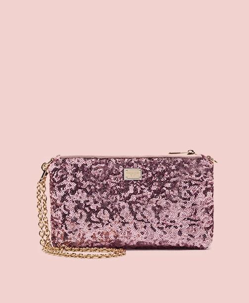 Glitzer-Tasche von Dolce&Gabbana