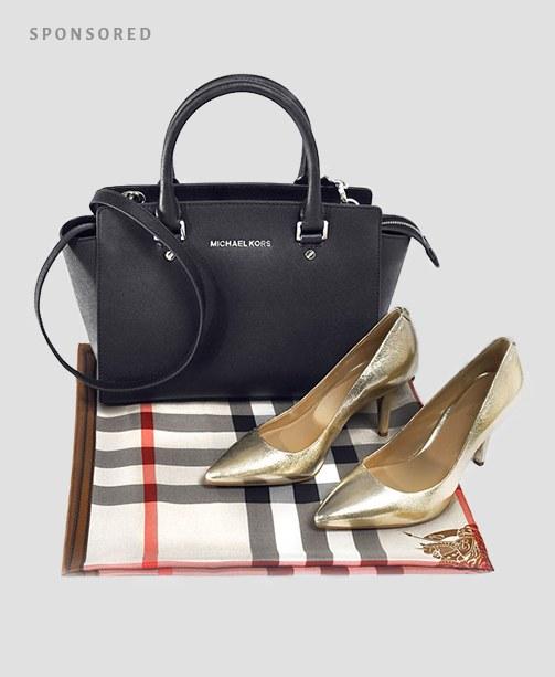Michael Kors Schuhe und Tasche