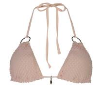 Triangel-Bikinitop Textured Skin Doutzen Rosa