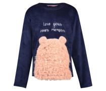 Fleece-Sweater Kids Blau