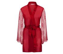 Kimono Chiffon Fine Lace Rot