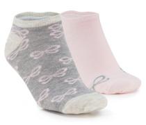 2 Paar Socken Rosa
