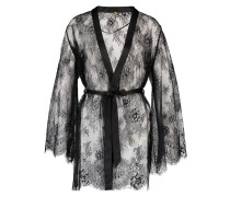 Kimono Lace Doutzen Schwarz