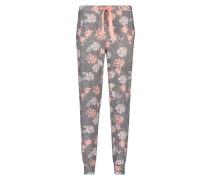 Pyjamaset Jersey Lace Grau