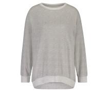 Pyjamaset Fleece Grau