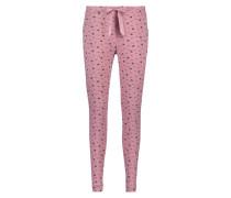 Pyjamahose Jersey Lila