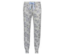 Pyjamahose Jersey Blau