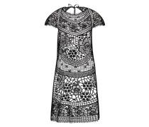 Kleid Crochet Schwarz