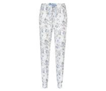 Pyjamahose Jersey Grau
