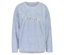 Sweater Fleece Blau