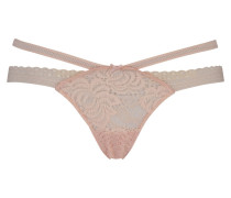 String Strappy Low Rosa