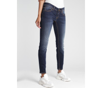 Faye Cropped Skinny Fit Jeans