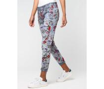 Rose Deep Crotch Cargo Pants