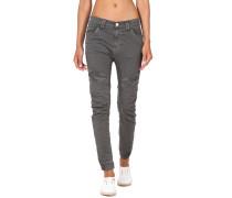 Giulia Deep Crotch Slim Fit Cargo Damen Hose