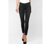 Faye Biker Skinny Cropped Fit Damen Jeans