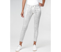 Faye Cropped Skinny Fit Hose