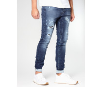 Ciro Deep Crotch Herren Jeans Sweatie Denim