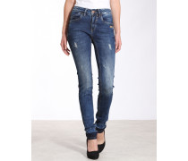 Jay Slim Fit High Rise Jeans