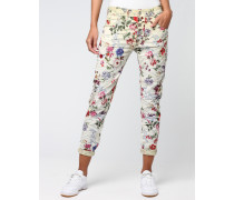 Rose Deep Crotch Cargo Pants