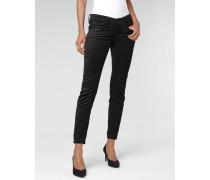 Faye Skinny Fit Striped Velvet Jeans