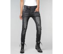 Marge Deep Crotch Damen Jeans