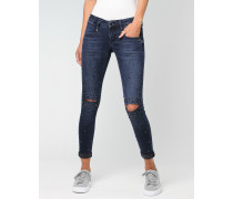 Nena Cropped Skinny Fit Jeans