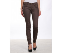 Nikita Skinny Fit Coated Jeans