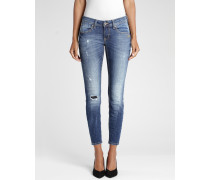 Faye Cropped Fit Damen Jeans