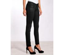 Nena Skinny Jeans striped gecoated