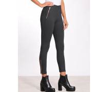 Lexi Zip Skinny Fit Jersey Hose