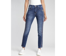 Ina High Rise Skinny Fit Jeans