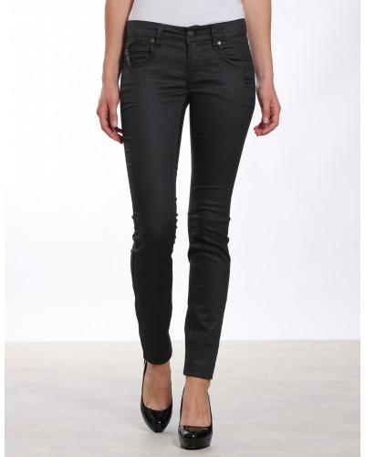 Nikita Skinny Fit Coated Jeans