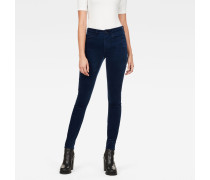 3301 High Waist Skinny Colored Jeans