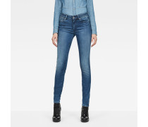 G-Star Shape High Waist Super Skinny Jeans