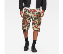 Rovic Raw Correct Relaxed 1/2-Length Shorts