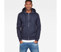 Graphic 8 Core Hooded Zip Through Sweatshirt