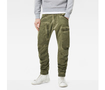 Powel 3D Tapered Cuffed Cargo Pants