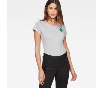 Graphic Spade Slim T-Shirt