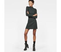 Xinva Slim Flare Funnel Dress
