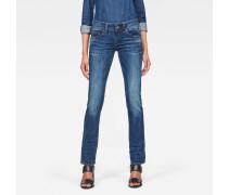 Midge Saddle Mid Waist Straight Jeans
