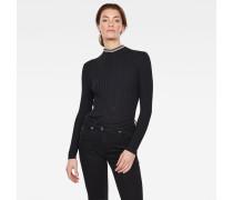 Lynn Mock Turtleneck Knitted Pullover