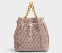 Bucket Bag Stacy Cometa S aus Leder