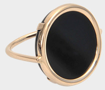 Ring Disc Black Onyx