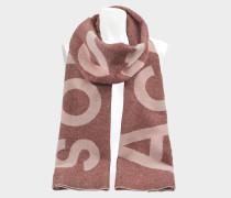 220X50 Toronto Logo Tuch aus rosanem Wolle und Polya