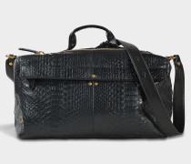 Raoul Tasche aus schwarzem Python